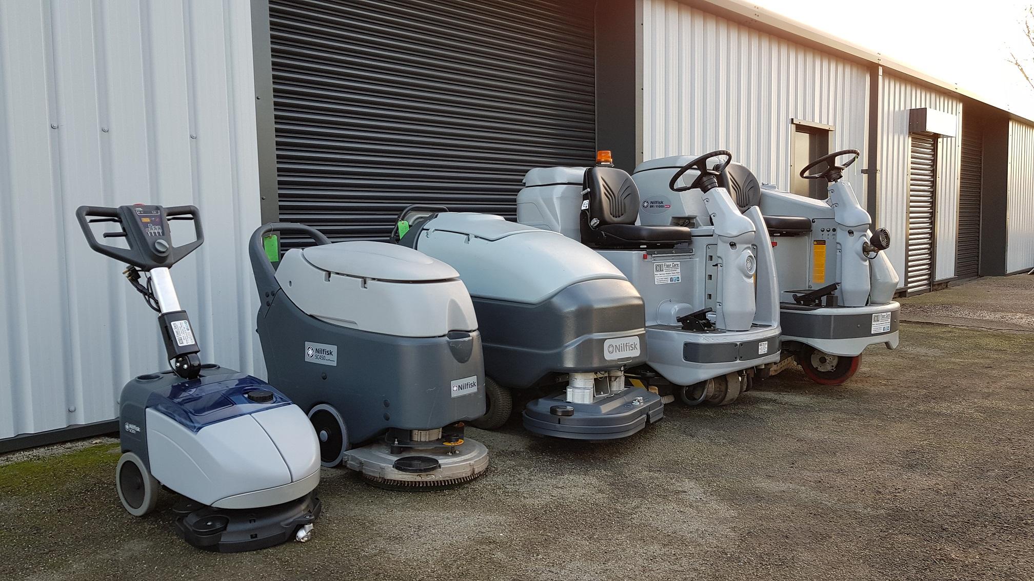 industrial floor cleaner hire