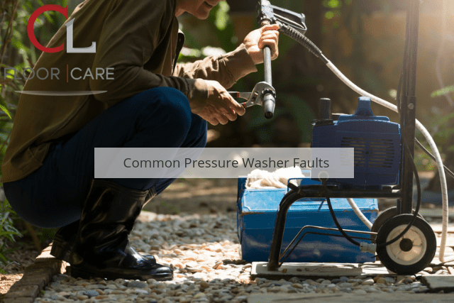 Common Pressure Washer Faults