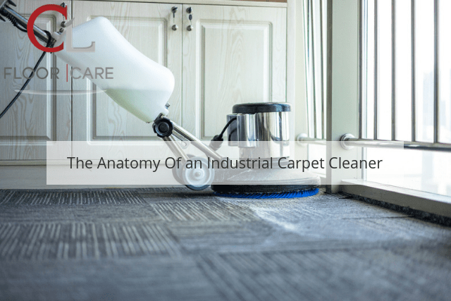 The Anatomy Of an Industrial Carpet Cleaner