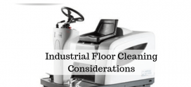 Industrial Floor Cleaning Considerations