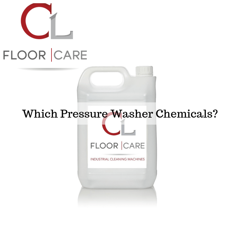 Which Pressure Washer Chemicals?