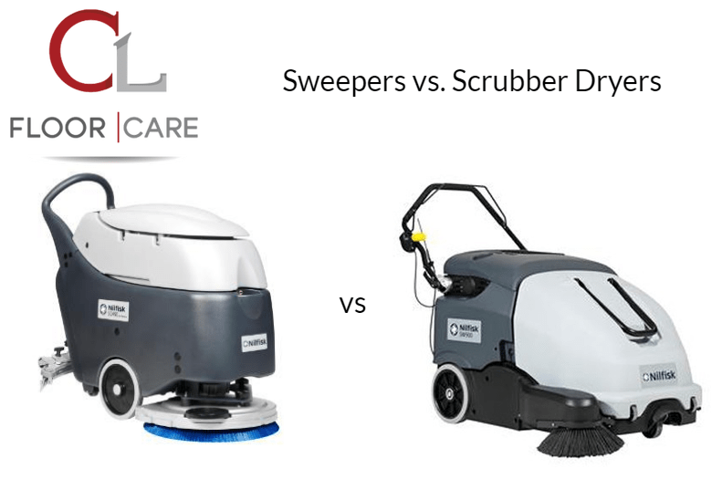 Sweeper vs. Scrubber Dryer