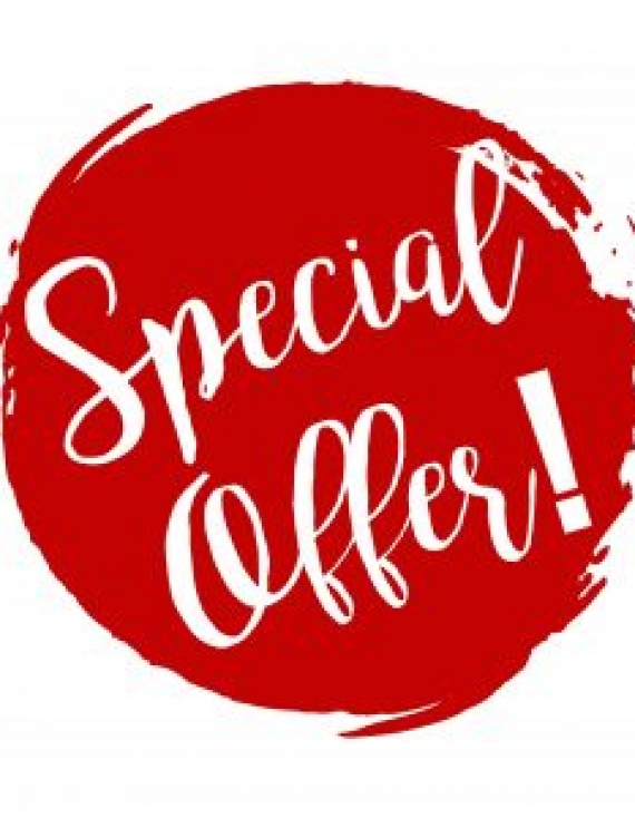 Quarter One special offers!!