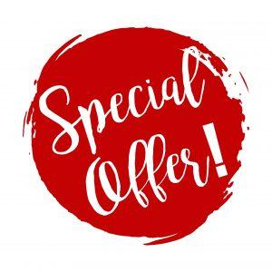 Quarter One special offers!!