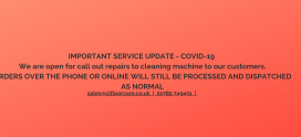 IMPORTANT SERVICE UPDATE – COVID-19