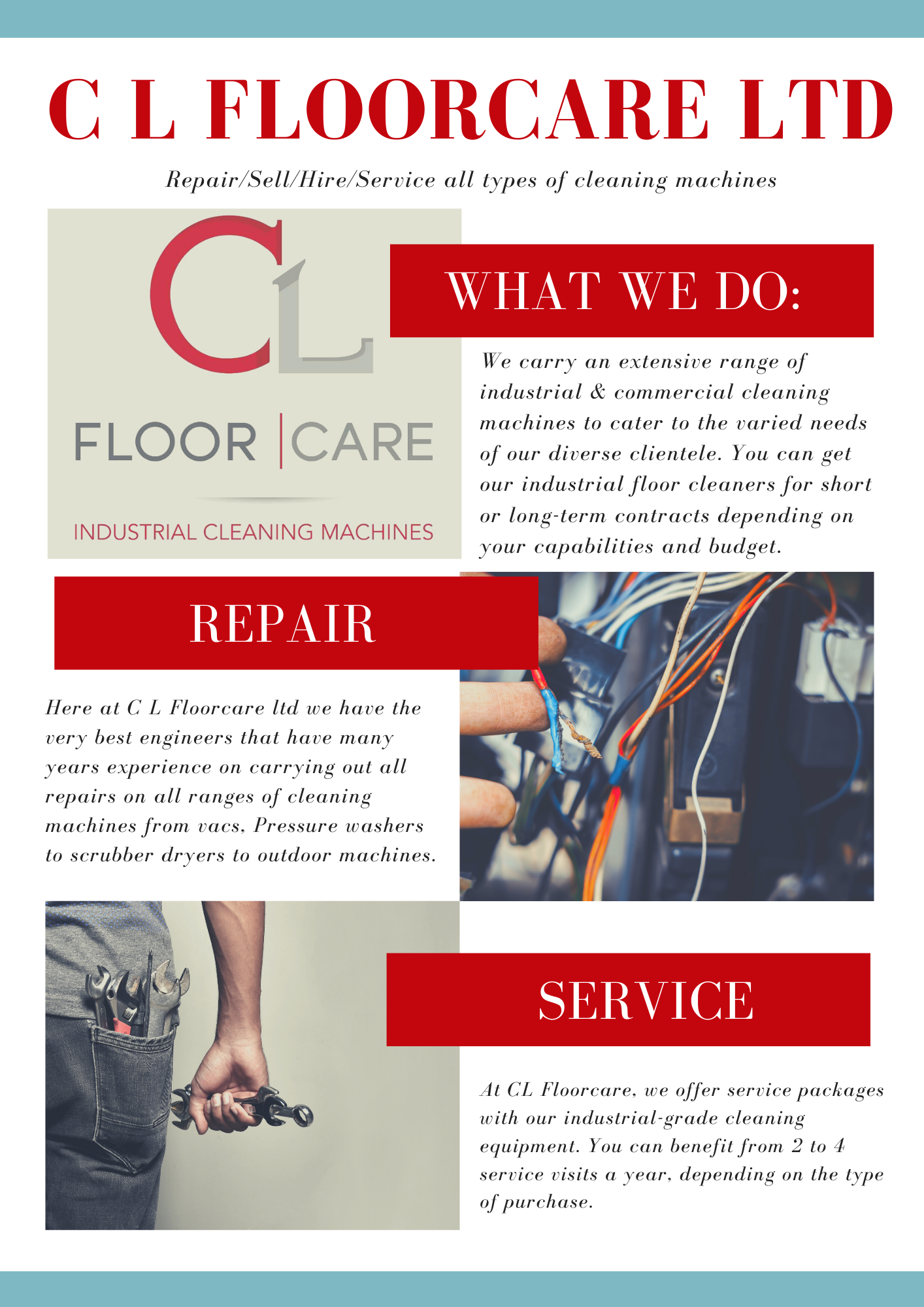 C L Floorcare ltd newsletter