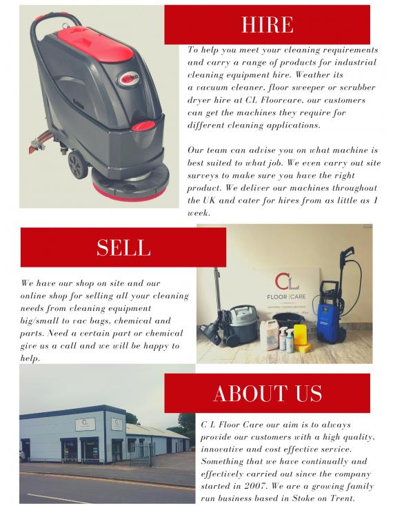 C L Floorcare Ltd Newsletter