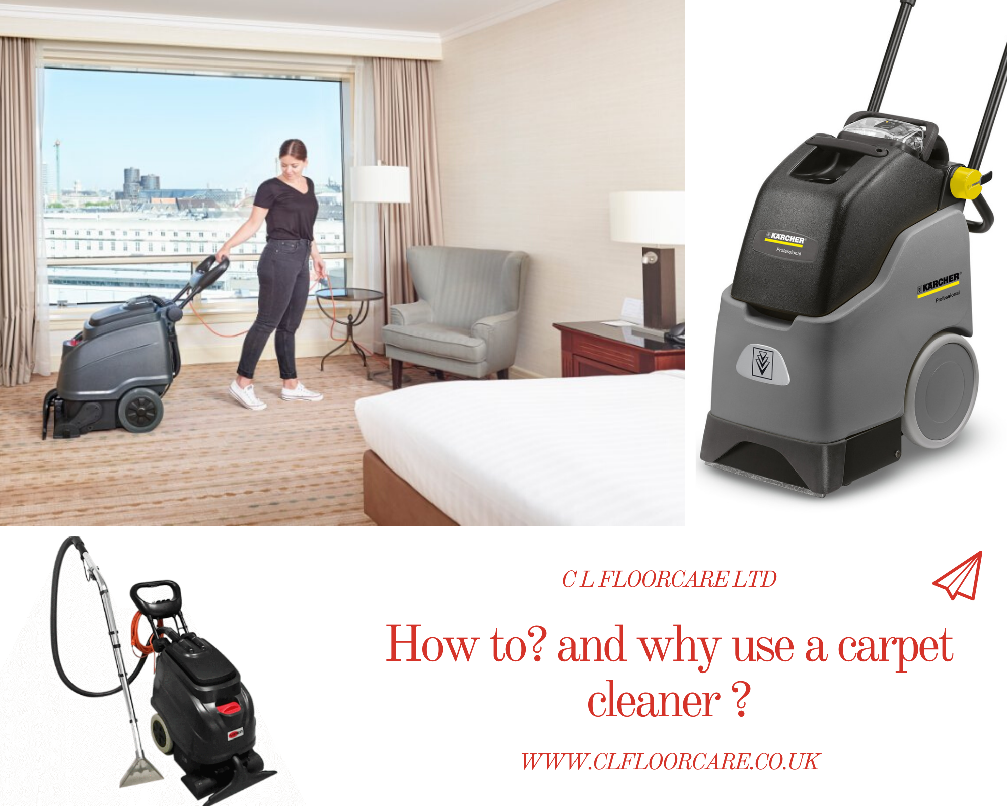 Why use a carpet cleaner… Hire/Buy we do both